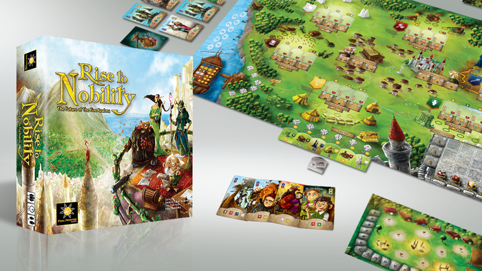 Rise to Nobility by Final Frontier Games — Kickstarter