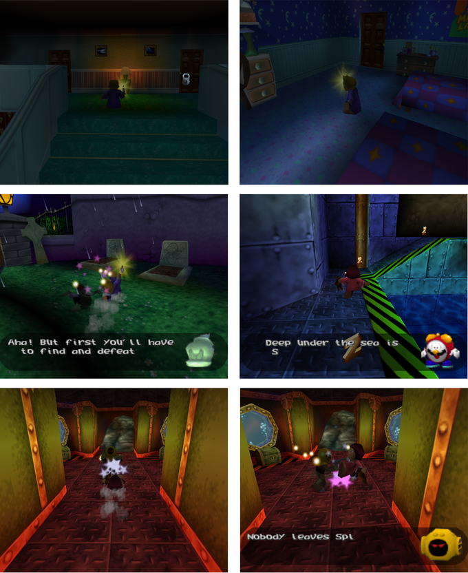 40 Winks N64 Screens