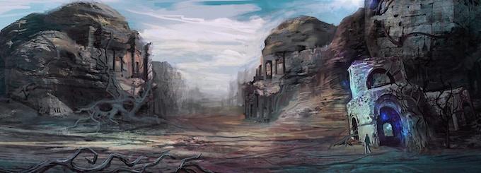 The ruins of Sallasat