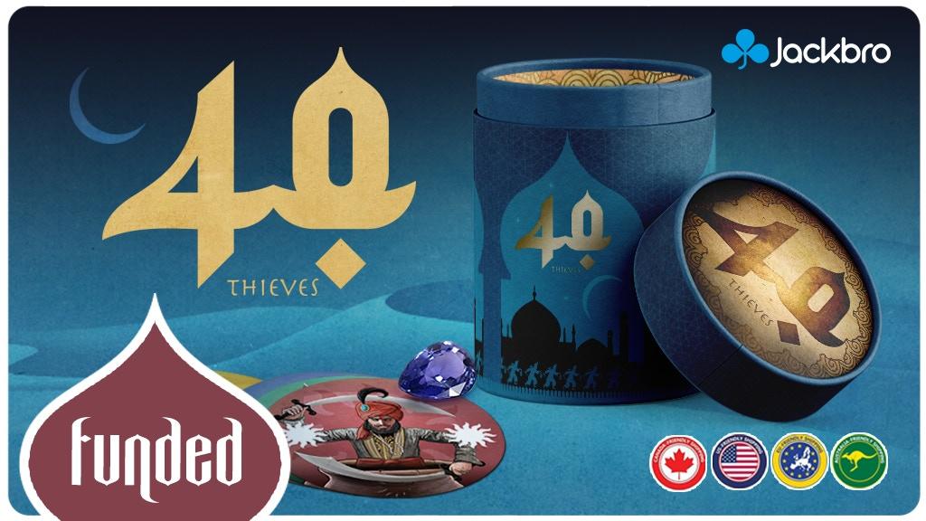 Miniature de la vidéo du projet 40 Thieves - tabletop games - 40 voleurs