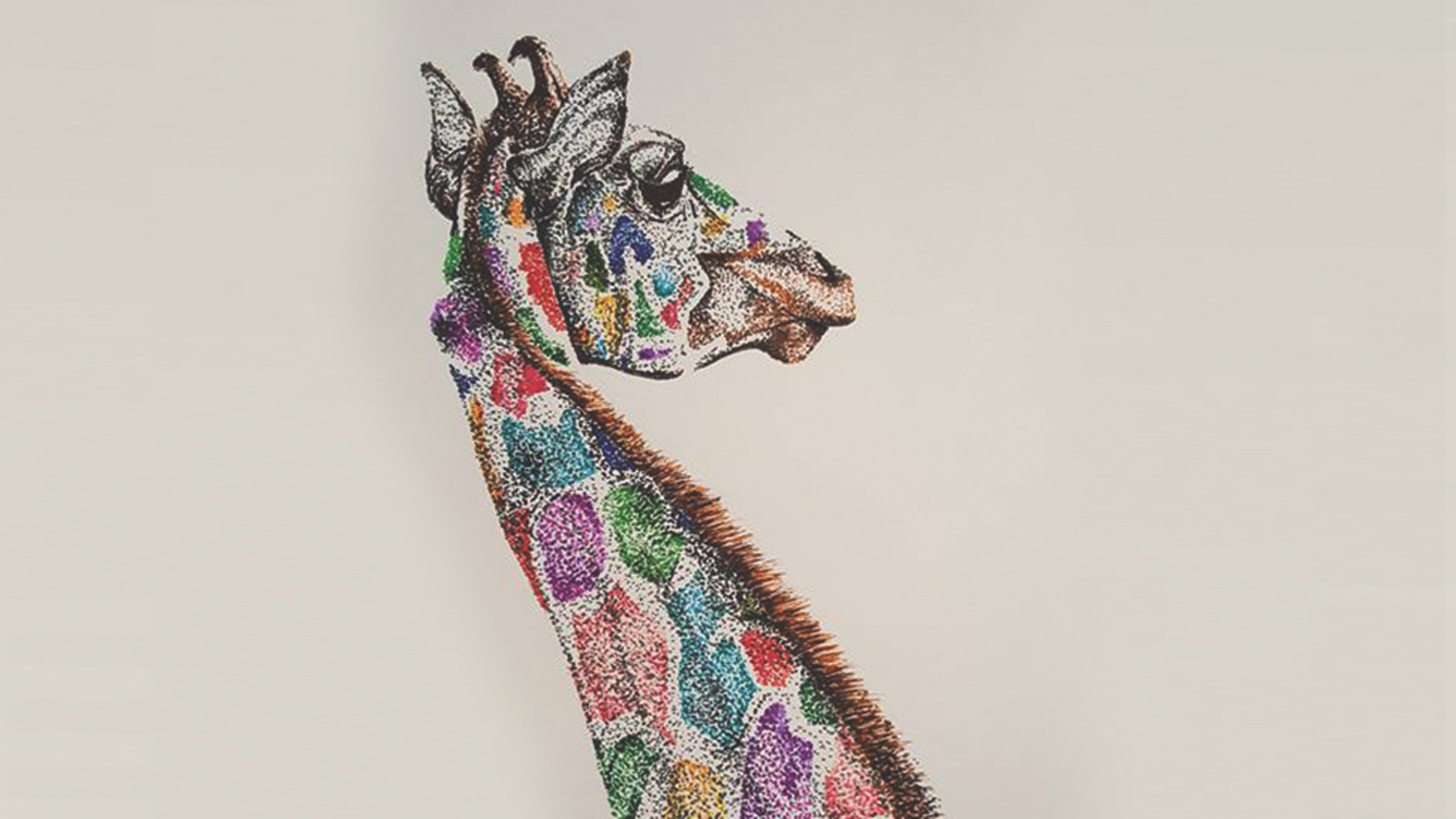 My First Book Animal Pictures Colorful Pointillism Art By Melanie