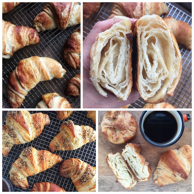 Pillowy croissants made with FabaButter magic (image courtesy of @terryhope)