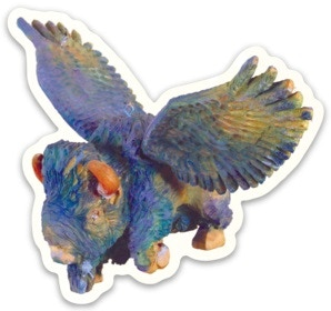 Flying Blue Buffalo sticker!