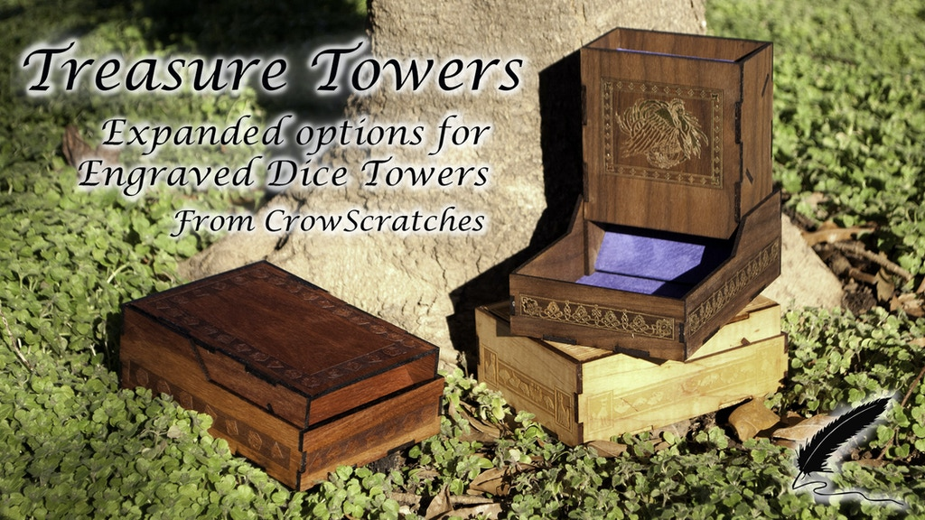 Treasure Towers: Expanded options for Engraved Dice Towers project video thumbnail