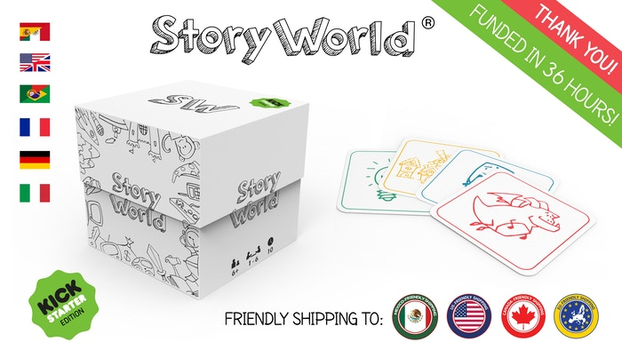 Use your creativity and imagination to create funny, crazy and out of this world stories. Become part of StoryWorld!