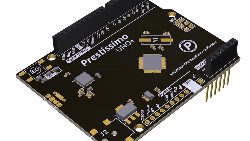 Project image for Prestissimo Uno+: Uno w/ more I2C UART SPI ADC IO PWM