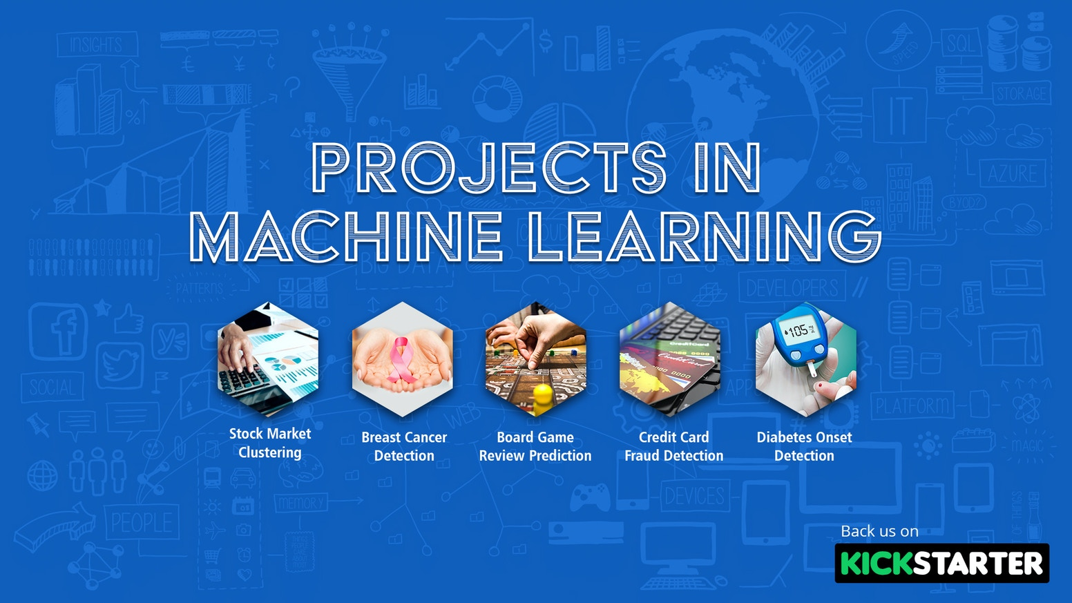 Get started with Machine Learning in no time by learning ML Algorithms & implementing it in live projects to solve real world problems