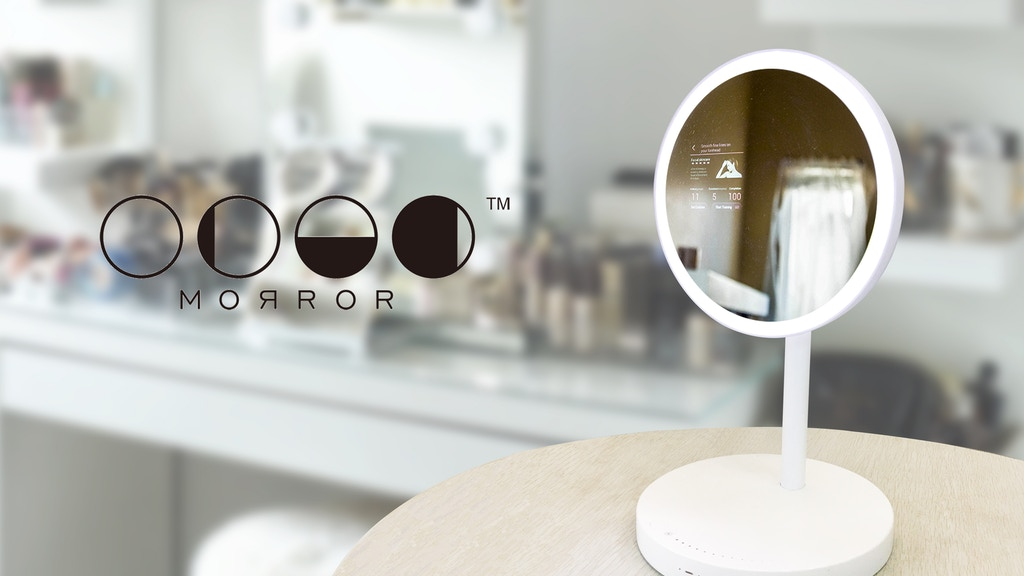 MORROR, The Smart Makeup Assistant on Your Vanity