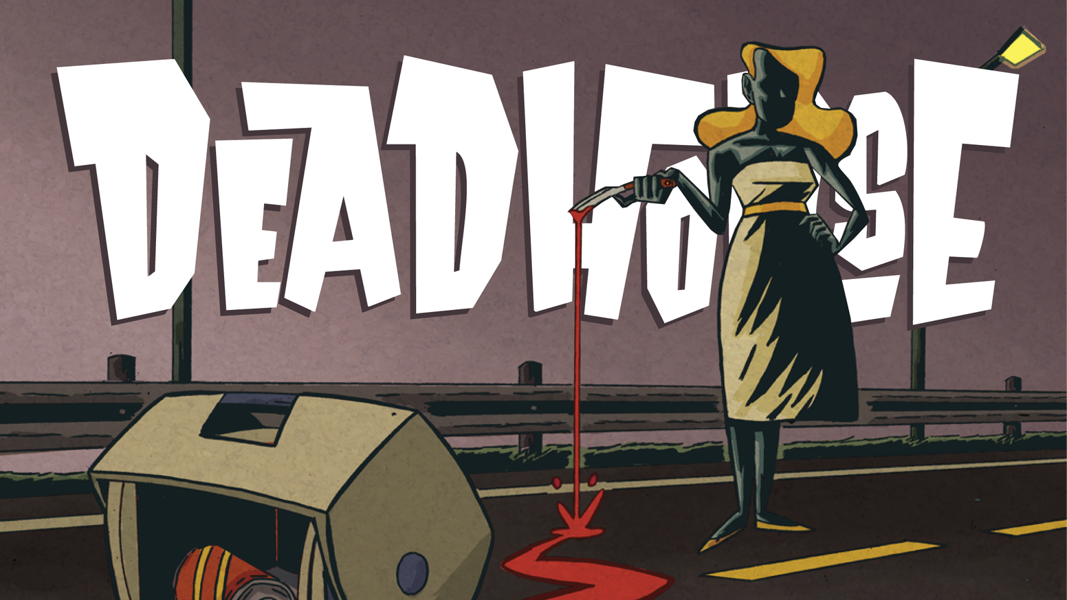 Help us COLOR the next 28 page chapter in the DEADHORSE saga - a comic of mystery, murder, and hand puppets.