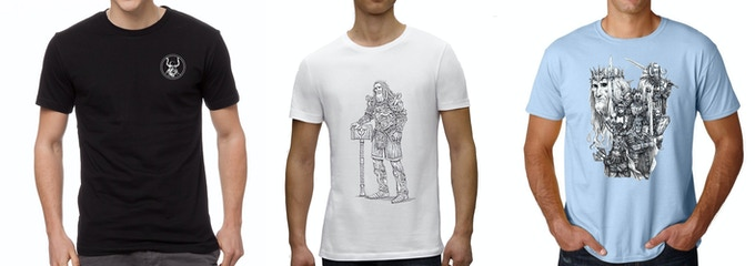 Three cool t-shirts to choose from!