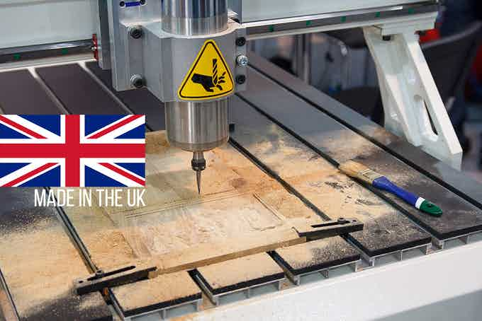 All top panels are CNC routed to ensure you get the most out of your Surface Charge. Made in the UK.