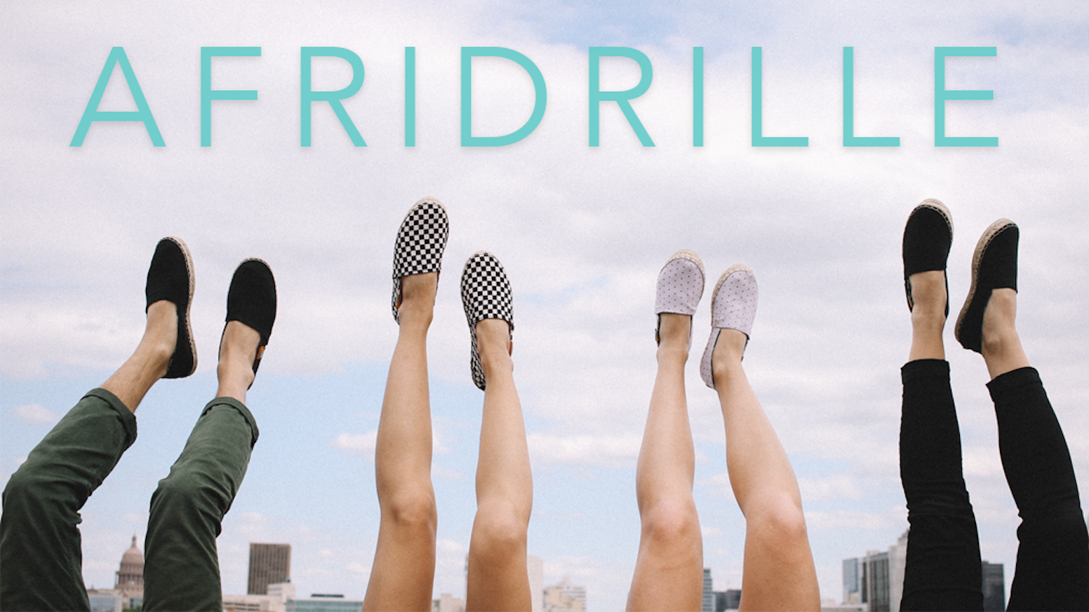 The first fully-customizable espadrille shoe, designed in Austin and handmade in Kenya.  CLASSIC AFRIDRILLES NOW AVAILABLE: www.ubuntu.life