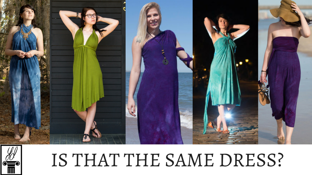The Convertible YesDress - One dress, over 1500 ways to wear project video thumbnail