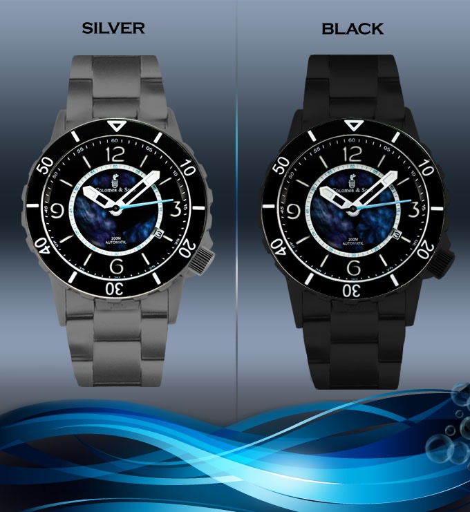 YOU CAN CHOOSE SIVER CASE OR BLACK CASE