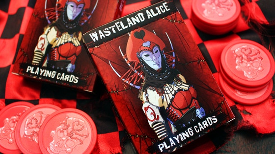 Wasteland Alice: The Red Queen's Deck - Custom Playing Cards