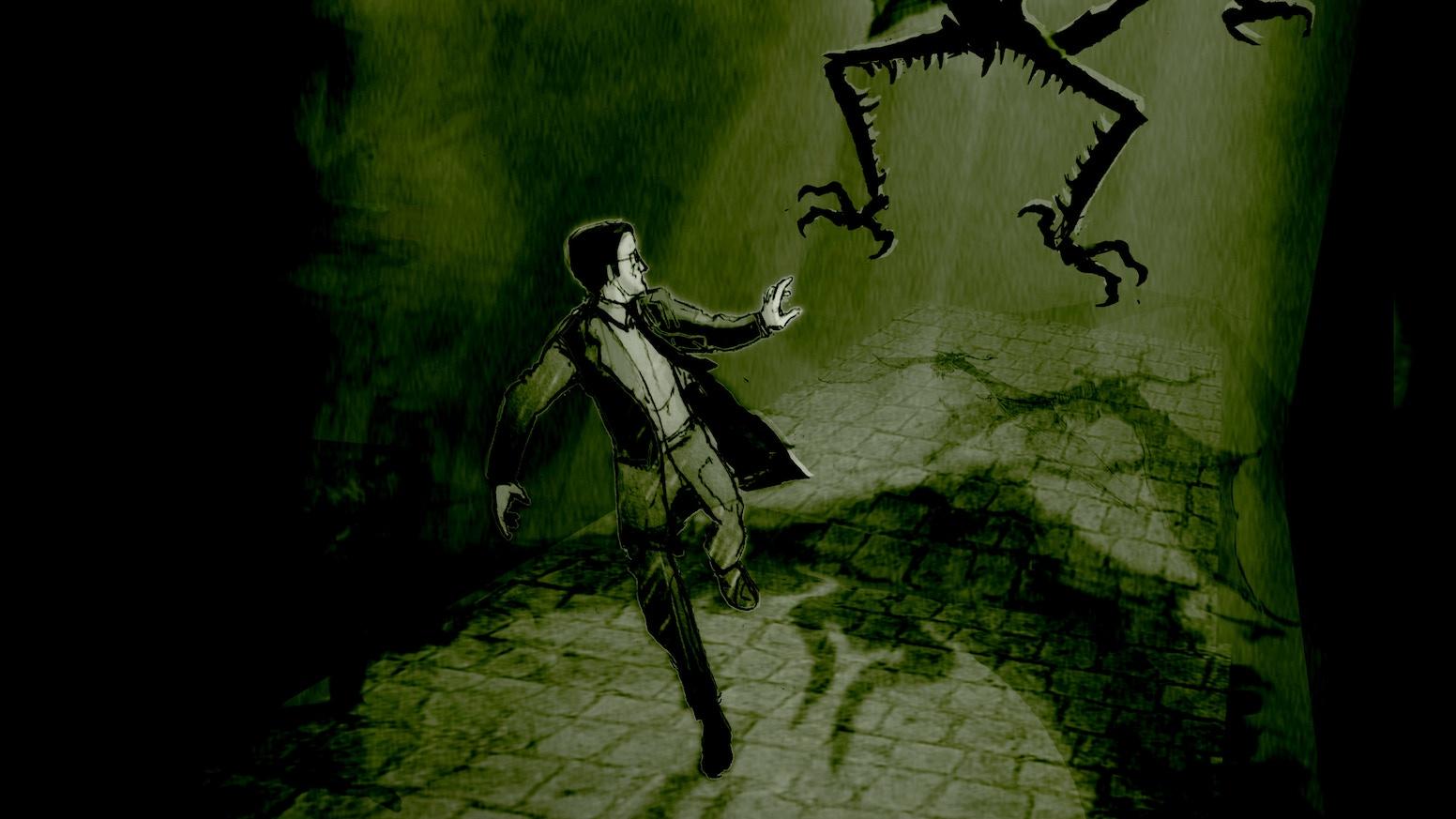 HP Lovecraft's Nightgaunts by Noah Van Buhren » Lovecraftian