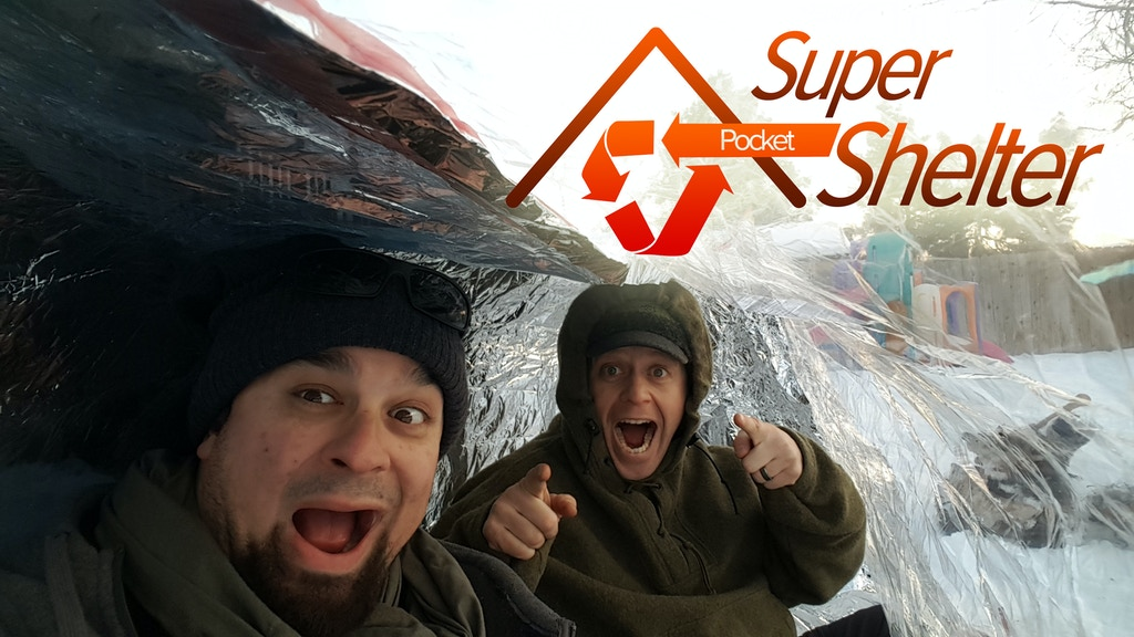 Pocket Super Shelter - Life Saving Warmth in the Wild project video thumbnail