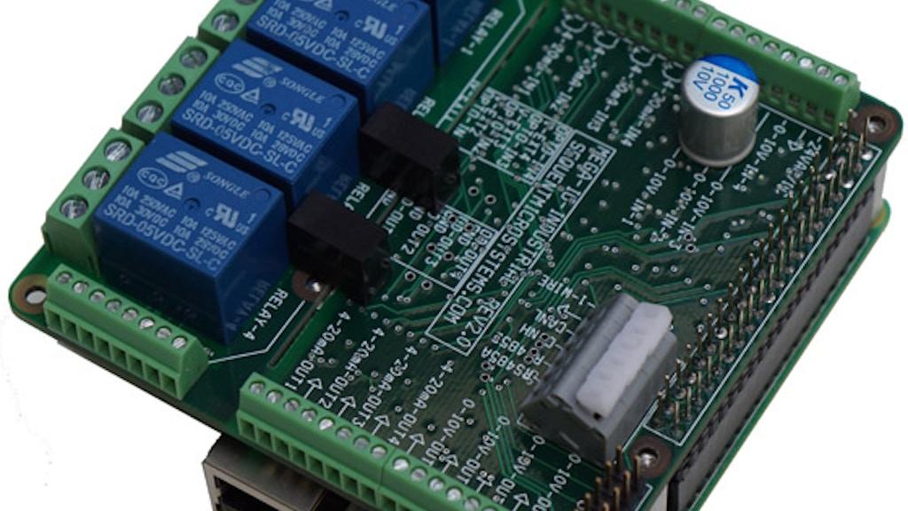 Raspberry Pi MEGA-IO Industrial Expansion Card