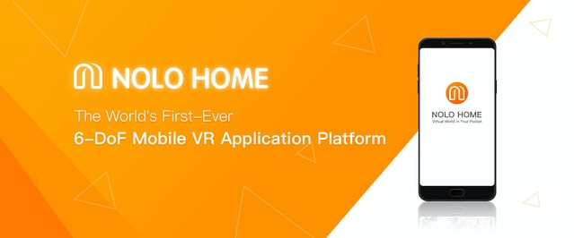 bc710829d779 Scenario would be - our users download Mobile VR applications from NOLO  HOME