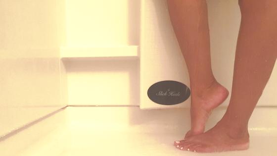 Slick Heels - A Hands Free Foot File