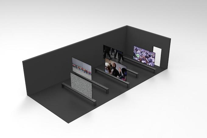 installation design render