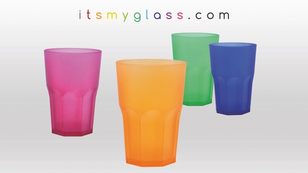 ITSMYGLASS - colored and recognizable plastic glasses