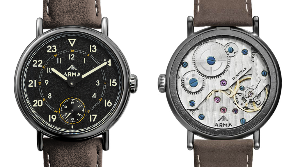 ARMA watch — a modern take on the classic military timepiece project video thumbnail