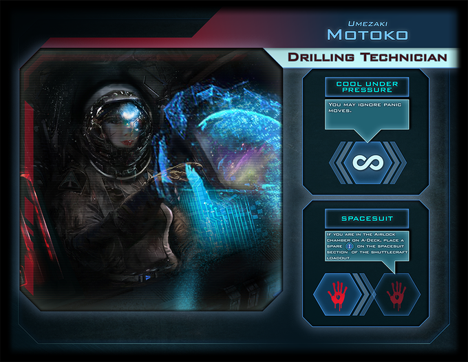 Motoko, the Drilling Technician