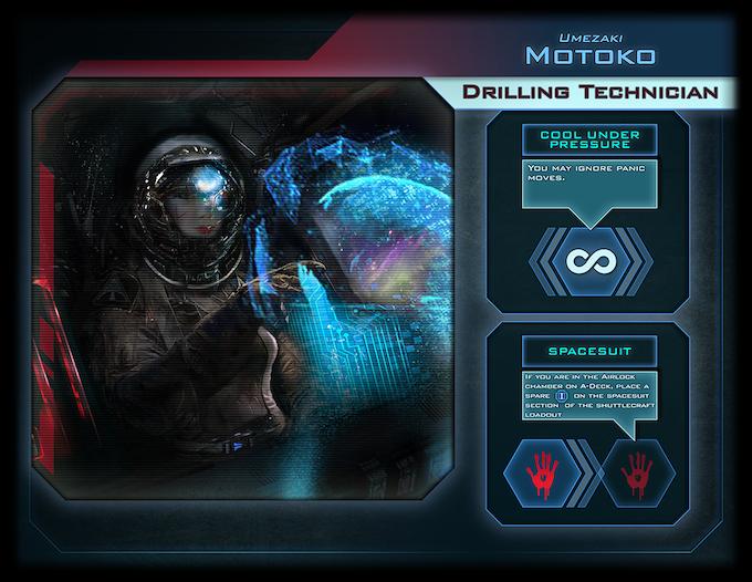 Motoko, the Drilling Technician