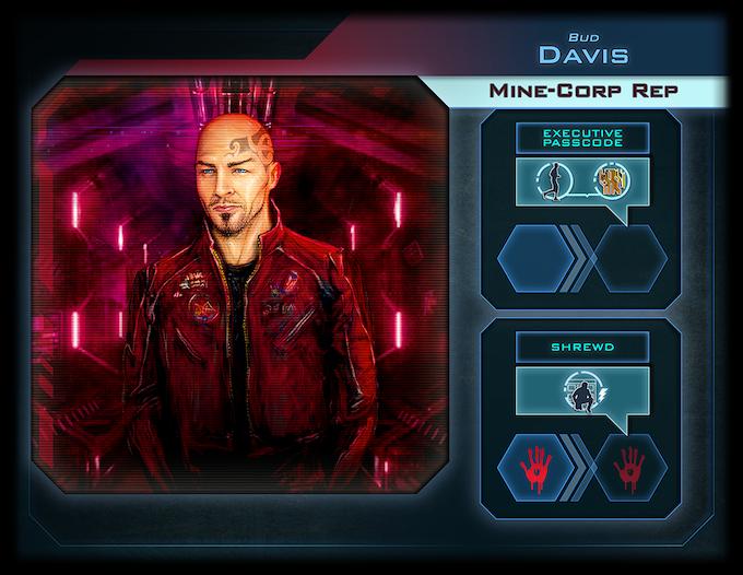 Davis, the Corporate Rep