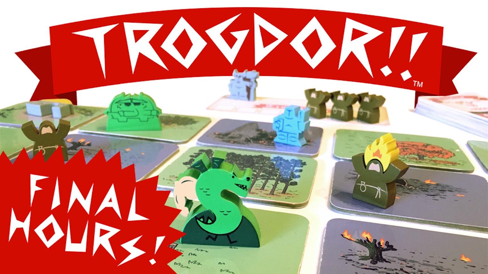 Trogdor The Board Game By Homestar Runner Kickstarter Switch 3 Launch Edition Bonus English Us Games