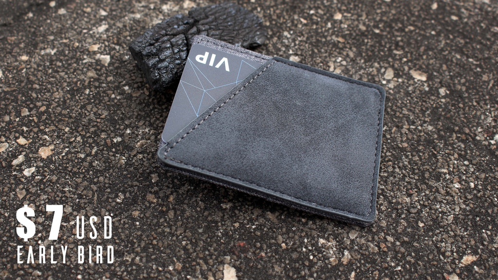 MINIX: Super functional minimal slim RFID canvas wallet project video thumbnail