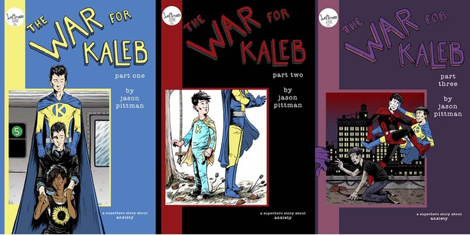 Covers to original issues to be collected in the Graphic Novel