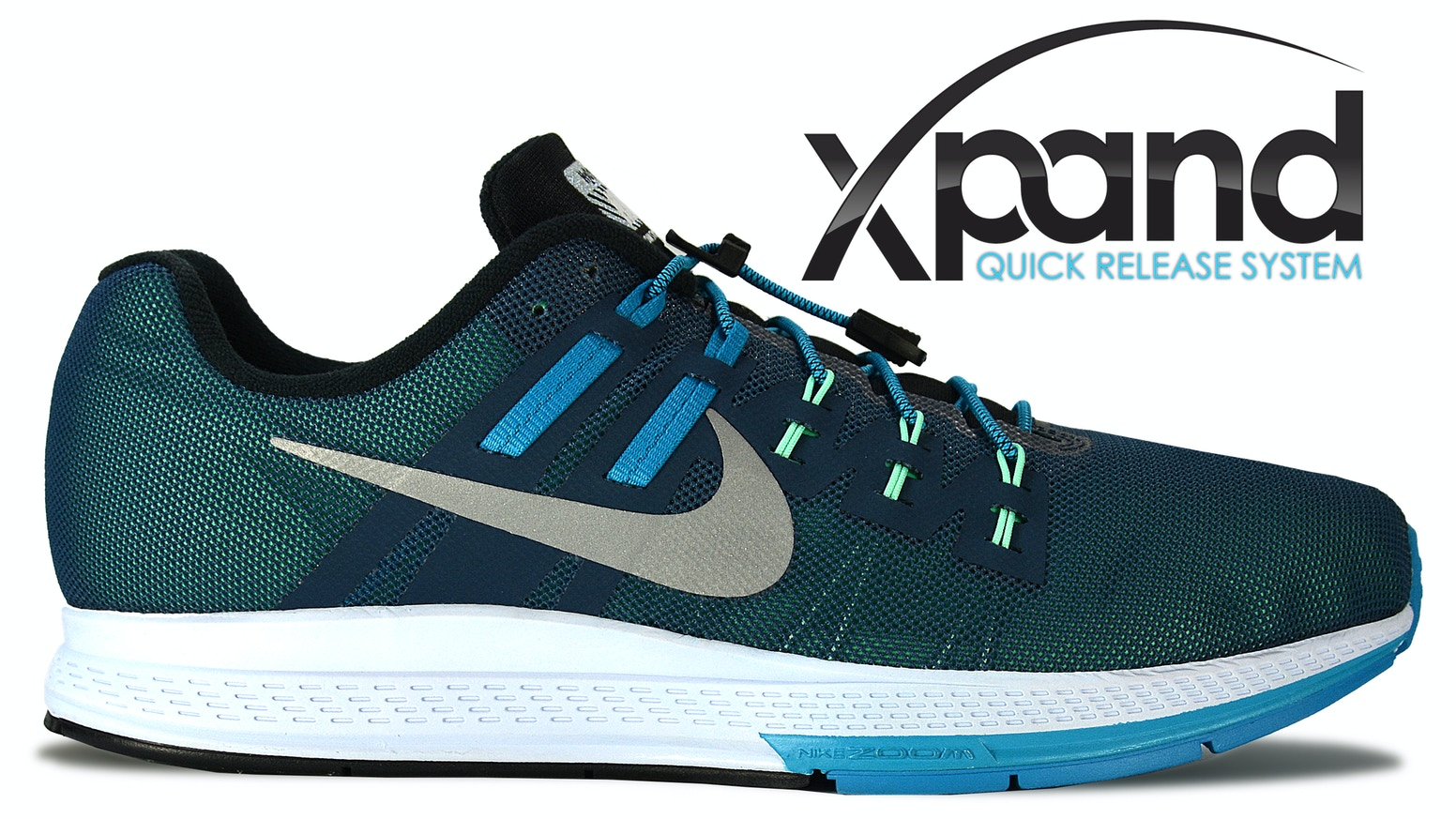 wholesale dealer 76eda 5a05b Shoes on in 3 seconds flat. No tie lacing system for runners, walkers,