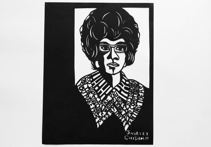 Shirley Chisholm by Anna Brones