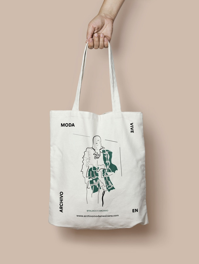 Tote Bag  @Taliacu x Archivo