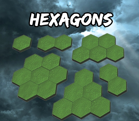 Hexagonal Grassy Fields