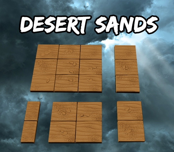 Desert Sands Square Tiles