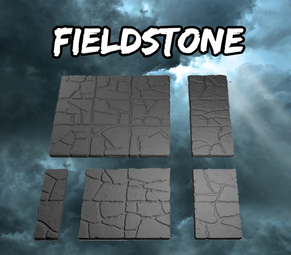 Fieldstone Square Tiles