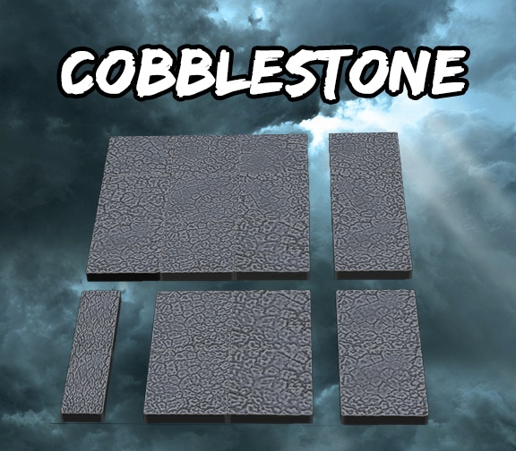 Cobblestone Square Tiles