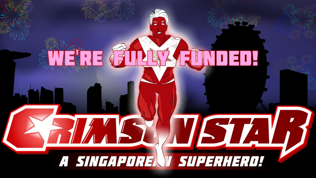 Crimson Star: A Singaporean Superhero - Collector's Ashcan project video thumbnail