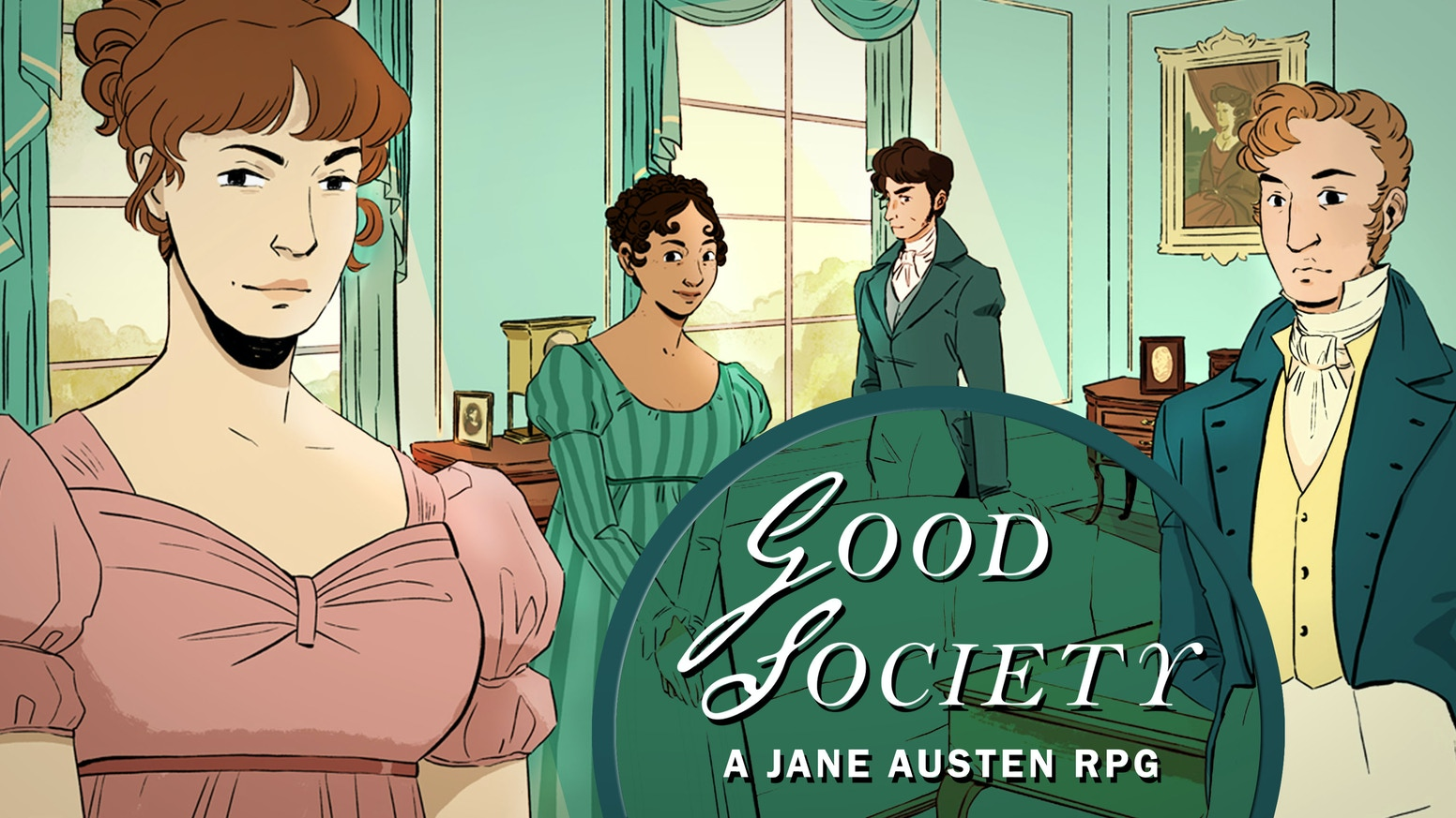 Navigate the pitfalls of romance, reputation, manners and marriage in this tabletop rpg that captures the heart of Austen's work.