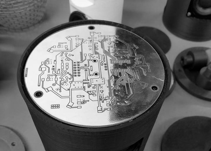 Working on electronics