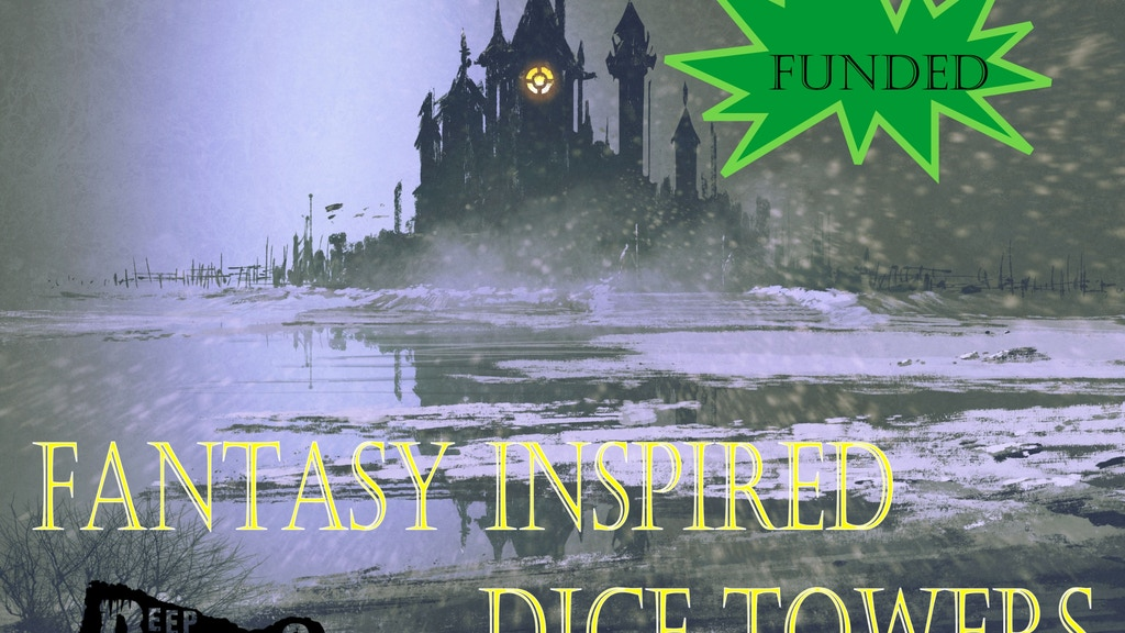 Fantasy Inspired Dice Towers project video thumbnail