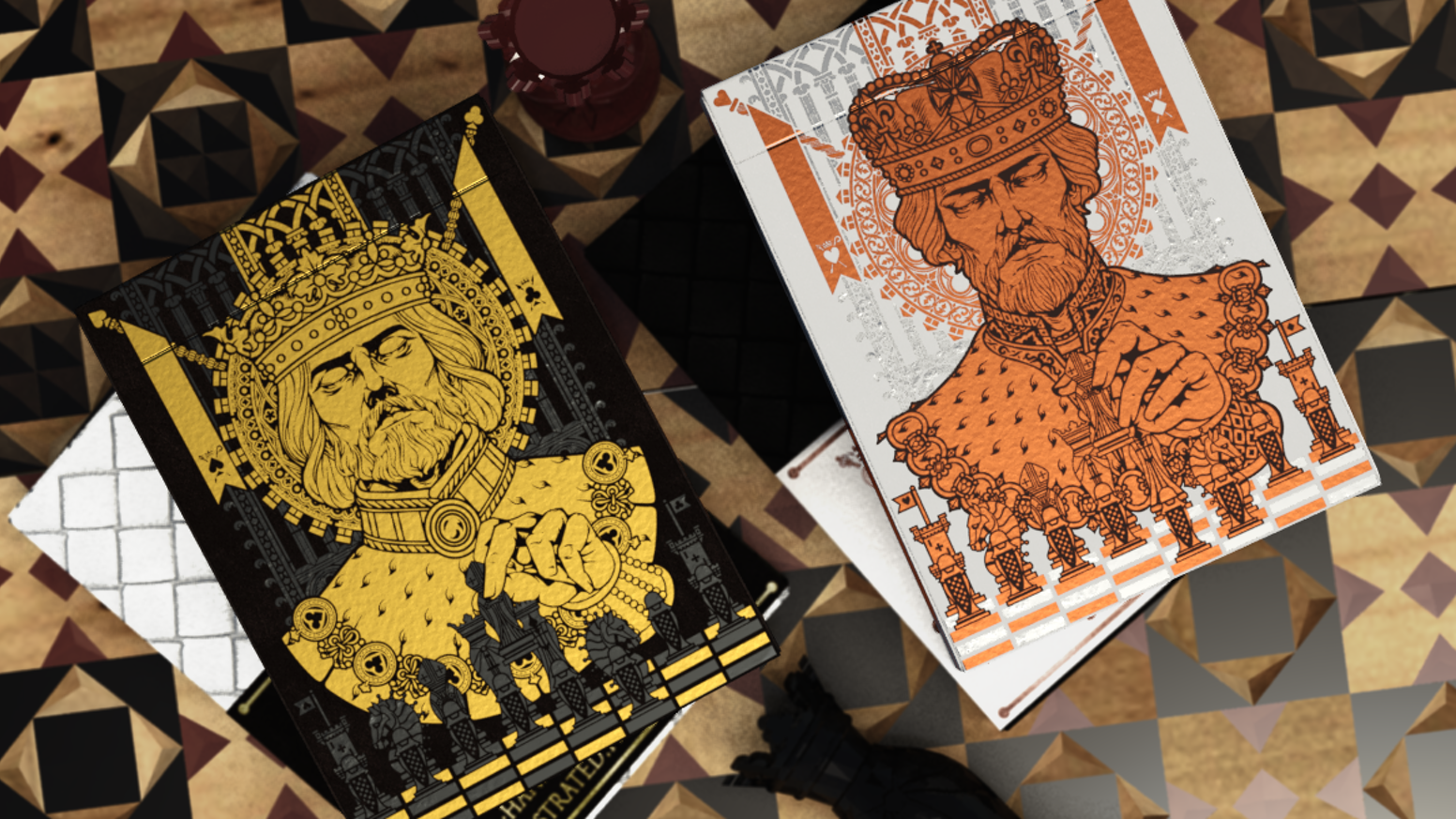 CHESS: The Game of the Kings, fully depicted in a 100% Custom deck of Playing Cards - 15 days campaign
