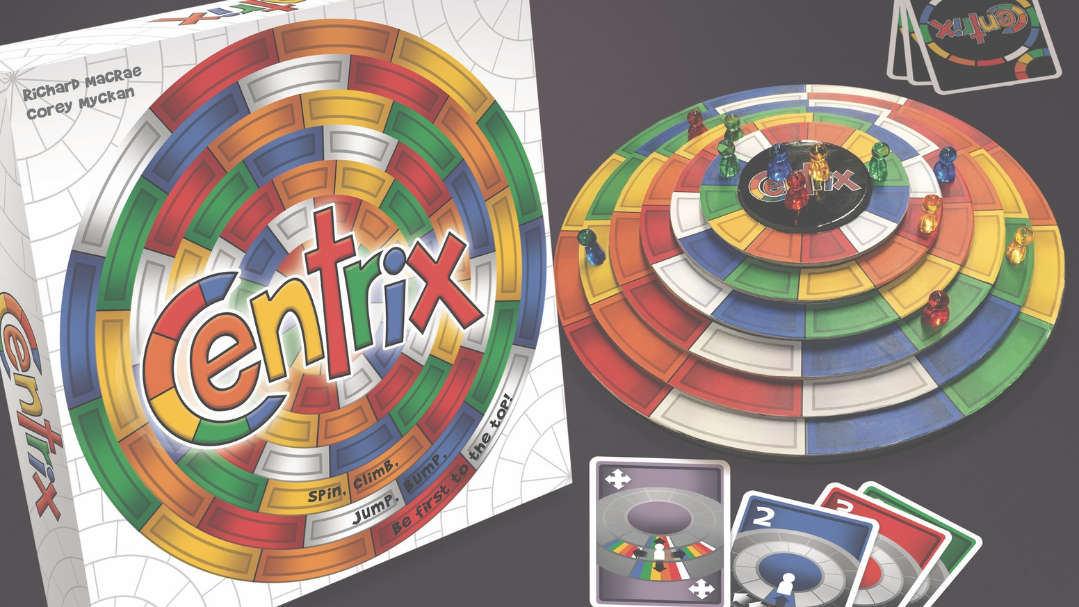 Centrix: A Spinning, Jumping, Bumping 3D Tabletop Game by