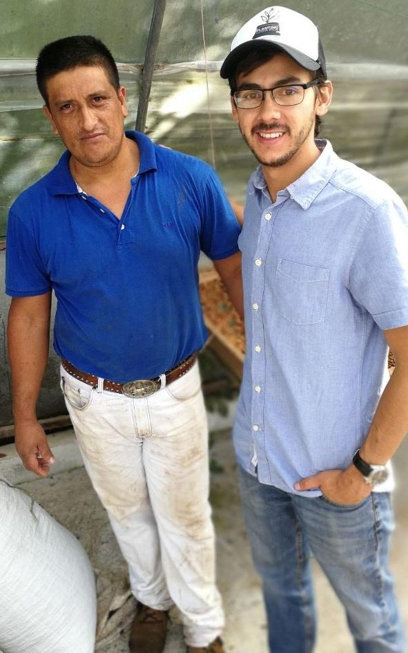 don Roberto y Nicolas Salcedo