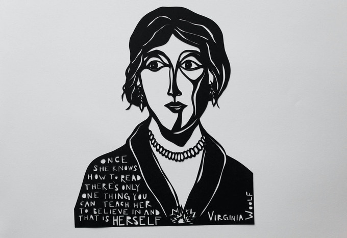 Virginia Woolf by Anna Brones