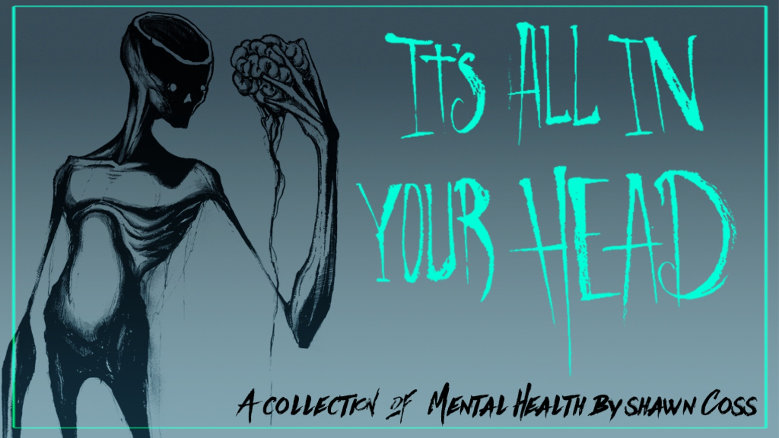 It's All in Your Head is the first ever collection of my popular Intkober series along with a glimpse into my art and depression.