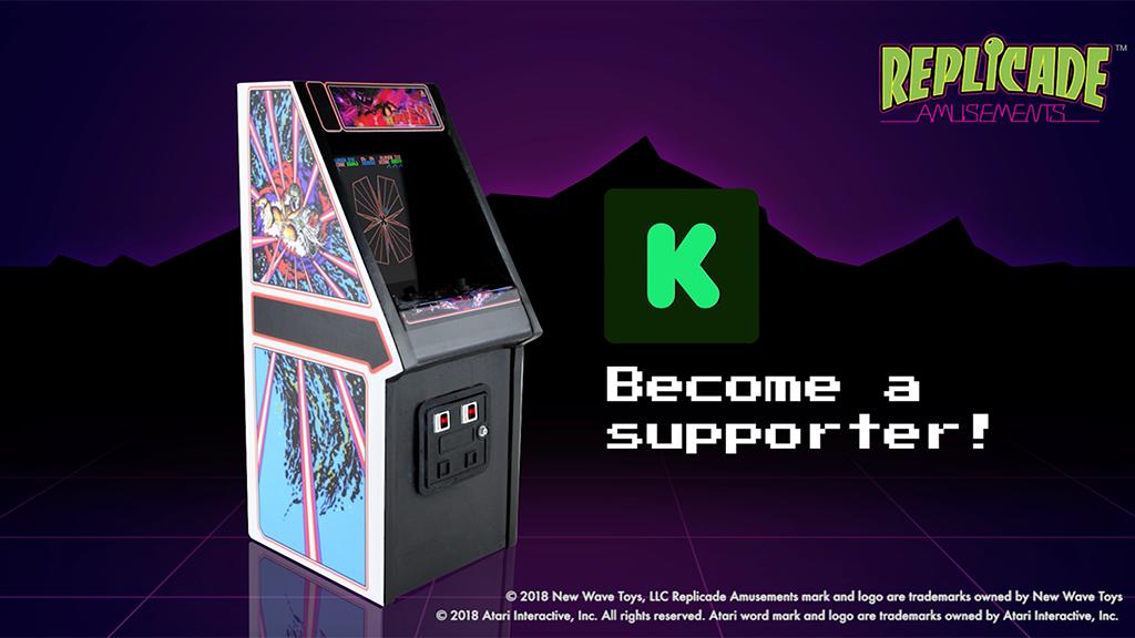 """RepliCade: Mini Tempest Arcade Machine Replica 12"""" Tall project video thumbnail"""
